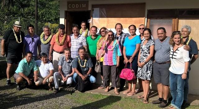 Rencontre du bureau exécutif avec une délégation du gouvernement de la Polynésie française